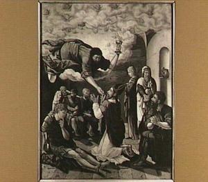 De miraculeuze communie van de H. Dionysius