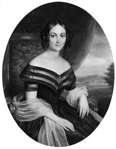 Portret van Ida Charlotta Nicolette Frün Selby (1809-1845)