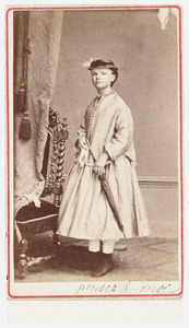 Portret van Elisabeth de Mol van Otterloo (1855-1937)