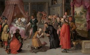 De justitie van Graaf Willem III van Holland