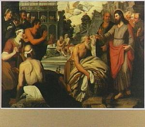 Christus geneest de zieken bij de poel te Betesda (Johannes 5:1-15)
