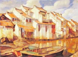 Huizen aan de waterlinie, Batavia