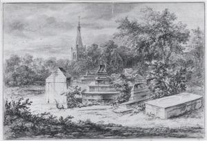 Portugees Joodse begraafplaats bij Ouderkerk aan de Amstel