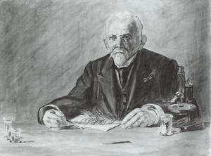 Portret van Jan Ritzema Bos (1850-1928)