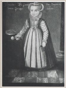Portret van Elisabeth van Oranje-Nassau (1577-1642)
