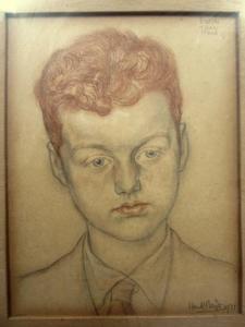 Portret van Paul Meijer (1921-)