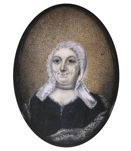 Portret van Justina Clara van Royen (1709-1748)