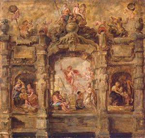De boog van Mercurius (Pompa Introitus Ferdinandi)