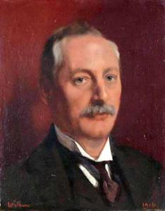 Portret van Alfred Gideon Boissevain (1870-1922)