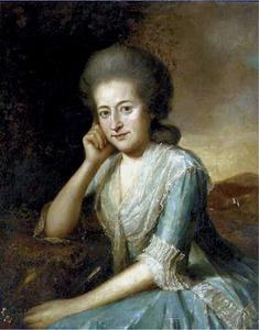 Portret van Phillippina Sophia Didier de Boncour (1746-1789)