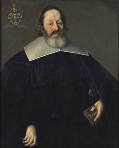 Portret van Nikolaus Hübner, raadsman van Toruń
