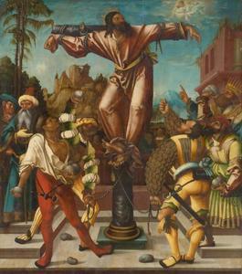 De marteling van de Heilige Philippus