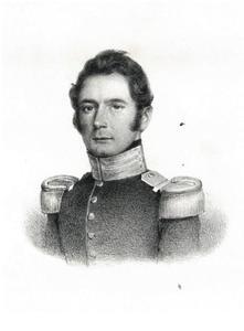 Portret van Friedrich von Bonstetten (1797-1869)
