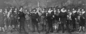 Korporaalschap van kapitein Jacob Rogh en luitenant Anthony de Lange, Amsterdam