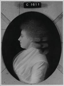 Portret van Wilhelmina Bigot de Villandry ( -1799)