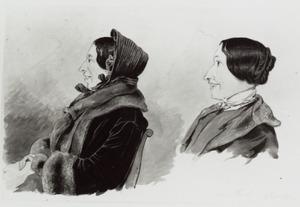 Portret van Malvina Elisa Suermondt (1828-1908)