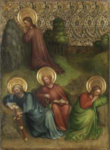 Christus met zijn leerlingen op de Olijfberg