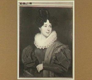 Portret van Maria Suzanna de Vries (1804-1836), gehuwd met Frederik Christiaan de Genestet