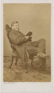 Portret van Vincent Mathias baron dÁblaing van Giessenburg (1810-1885)