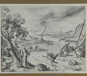 Christus verschijnt aan de leerlingen bij het meer van Tiberias (Johannes 21:1-8)
