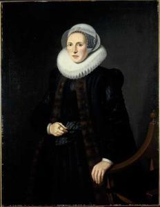 Portret van Mayken Baccher (1565-1612)