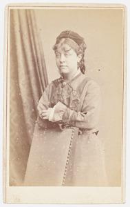 Portret van Agatha Kops (1857-1887)