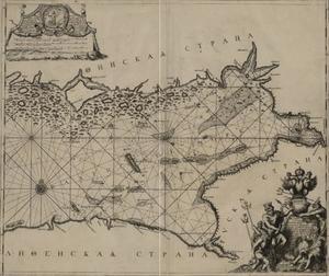 Kaart van het oostelijke deel van de Finse Golf
