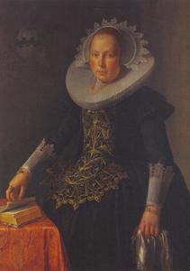Portret van Antonetta Wtewael, dochter van Joachim Wtewael, echtgenote van Johan Pater