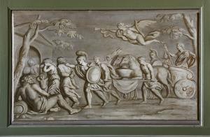 De overwinning van de Romeinen op de Batavieren