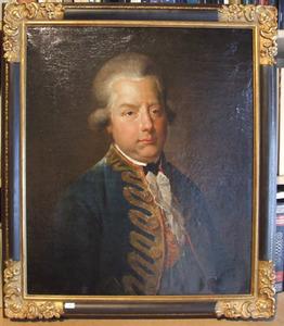 Portret van stadhouder Willem V (1748-1806)