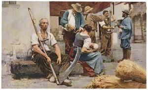 Betalen van de oogsters