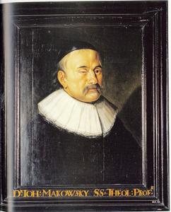 Portret van Johannes Maccovius (1588-1644)