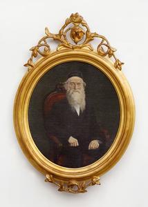 Portret van Bernardus Antonius Roes (1822-1904)