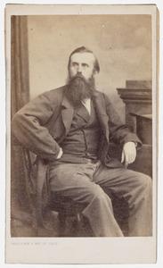 Portret van Adriaan Gillis Wesselman van Helmond (1828-1895)