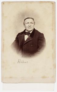 Portret van Hohne