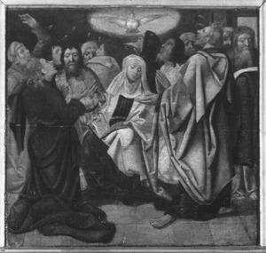 De uitstoring van de H. Geest: het Pinksterwonder (Handelingen 2:1-4)