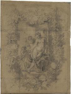 Venus aan haar toilet