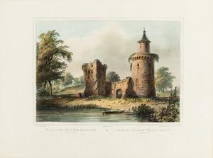 Gezicht op de ruïne van Kasteel Duurstede
