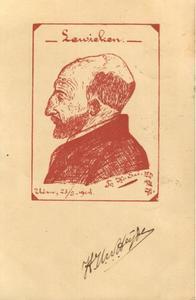 Portret van Louis van Zwanenbergh (1847-1916)