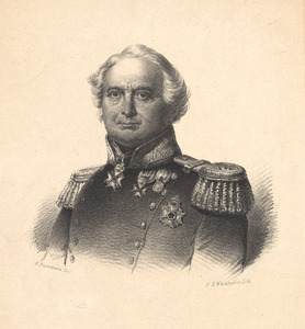 Portret van Anthoon Willem de Man (1773-1861)