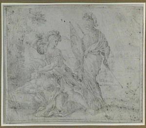 Perseus onthoofdt Medusa