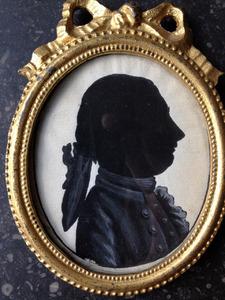 Portret van een man, waarschijnlijk Anne Willem Carolus van Iddekinge (1750-1786)