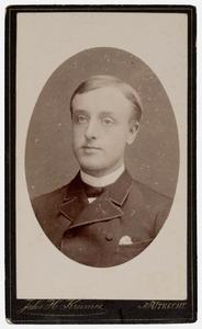Portret van Joost de Vos