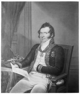 Portret van Lodewijk van Toulon (1767-1840)