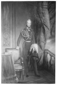 Portret van Albrecht van Pruisen (1809-1872)