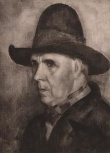 Portret van Frits Ehrhard Adrianus Koeberg (1876-1961)