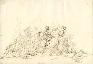 Schets van een slagveld