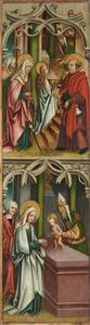De presentatie van Maria in de tempel en de presentatie van Jezus in de tempel