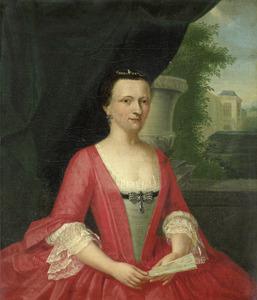 Portret van Jacoba Maria van Bueren gezegd van Regteren (1718-1791)