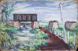 Landschap met bruggen II